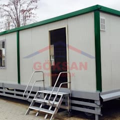 Prefabricated home by GÖKSAN PREFABRİK SAN.TİC.LTD.ŞTİ