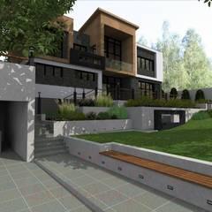 Дом лего: Дома на одну семью в . Автор – Архитектурная студия 'Арт-Н'