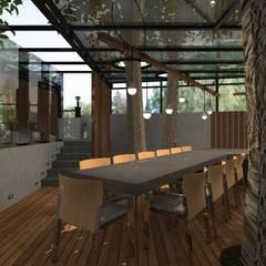 Дом лего: Tерраса в . Автор – Архитектурная студия 'Арт-Н'