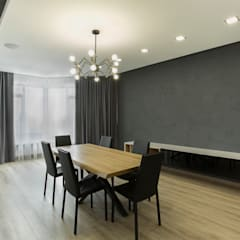 """ЖК """"Ладья"""": Столовые комнаты в . Автор – Архитектурная студия 'Арт-Н',"""