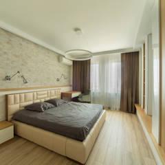 Phòng ngủ nhỏ by Архитектурная студия 'Арт-Н'