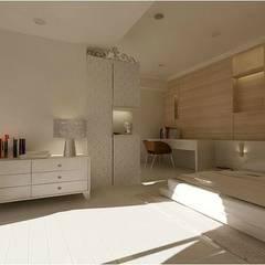 鼎爵室內裝修設計工程有限公司が手掛けた小さな寝室