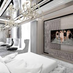 SOTTO VOCE | II | Wnętrza domu: styl , w kategorii Sypialnia zaprojektowany przez ARTDESIGN architektura wnętrz