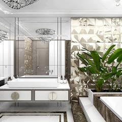 SOTTO VOCE | II | Wnętrza domu: styl , w kategorii Łazienka zaprojektowany przez ARTDESIGN architektura wnętrz