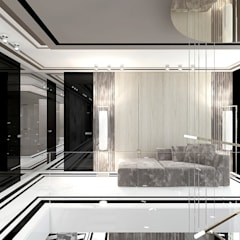 SOTTO VOCE   II   Wnętrza domu Eklektyczny korytarz, przedpokój i schody od ARTDESIGN architektura wnętrz Eklektyczny
