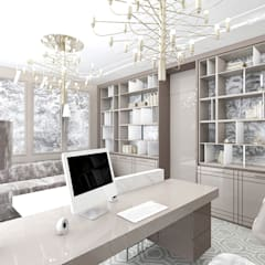 SOTTO VOCE | II | Wnętrza domu: styl , w kategorii Domowe biuro i gabinet zaprojektowany przez ARTDESIGN architektura wnętrz
