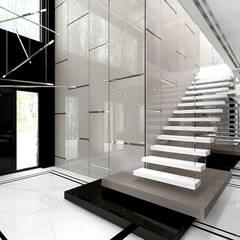 樓梯 by ARTDESIGN architektura wnętrz