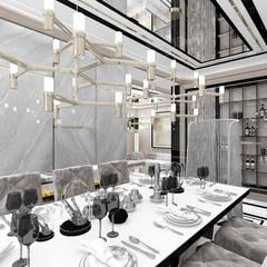 SOTTO VOCE | I | Wnętrza domu Eklektyczna jadalnia od ARTDESIGN architektura wnętrz Eklektyczny