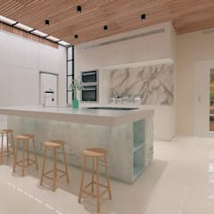 Cozinha Escandinava: Cozinhas  por DOD arquitetura