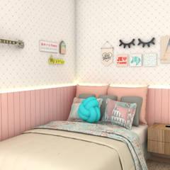 Bethânia Alves Interiores:  tarz Kız çocuk yatak odası