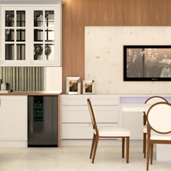 Kitchen units by Malu Zanatto Arquitetura
