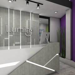 Lumia Centro Ontológico : Clínicas de estilo  por Oblicua arquitectura y diseño sas,