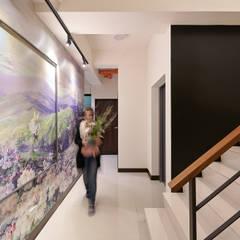 Escaleras de estilo  por 趙玲室內設計