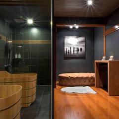 Japanese Bathroom Design by Design Intervention:  Bathroom by Design Intervention