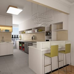 Jurong West Street 75:  Built-in kitchens by Swish Design Works