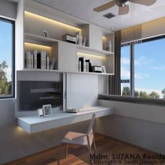 غرف نوم صغيرة تنفيذ Swish Design Works