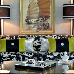 Sofa Design by Design Intervention:  Living room by Design Intervention
