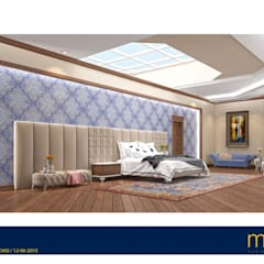 Macitler Mobilya – Geniş Villa Projeleri:  tarz Yatak Odası