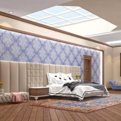 Macitler Mobilya – Lüx Villa Dekorasyonları:  tarz Yatak Odası