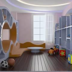Macitler Mobilya – Lüx Villa Dekorasyonları:  tarz Erkek çocuk yatak odası
