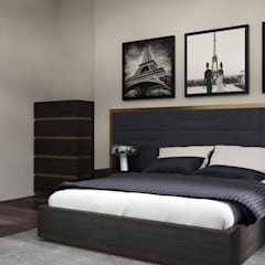 Macitler Mobilya – Lüx Villa Projesi:  tarz Yatak Odası