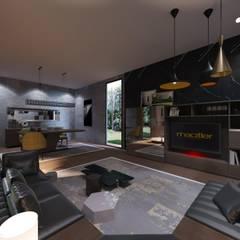 Macitler Mobilya – Villa Dekorasyonları:  tarz Yatak Odası