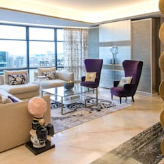 Living Room by Design Intervention:  Living room by Design Intervention