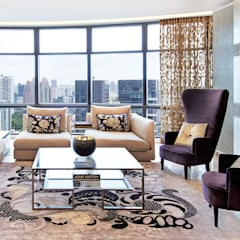 Chinoiserie Living Room by Design Intervention:  Living room by Design Intervention