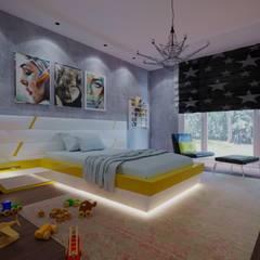 Macitler Mobilya – Villa Projesi:  tarz Genç odası