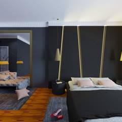 Macitler Mobilya – Ev Proje Dekorasyon:  tarz Yatak Odası