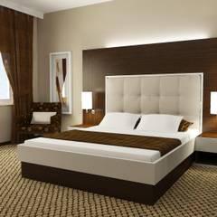 Macitler Mobilya – Otel Dekorasyonları:  tarz Yatak Odası