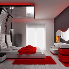 Macitler Mobilya – Otel Dekorasyonu:  tarz Yatak Odası