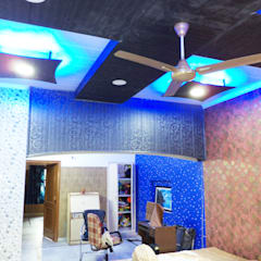 Interior Project completed Modern living room by Mohali Interiors Modern