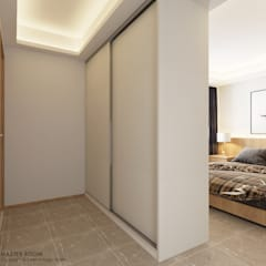 Compassvale Lane:  Small bedroom by Swish Design Works,Scandinavian
