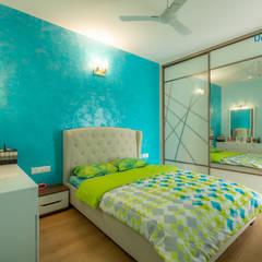 Dormitorios pequeños de estilo  por DECOR DREAMS