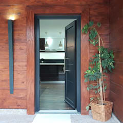 Front doors by Breeze House