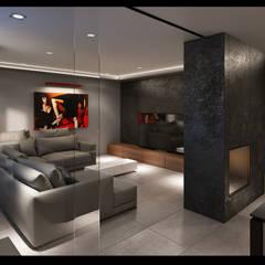 Projekt Wnętrz Domu: styl , w kategorii Piwnica win zaprojektowany przez BILAR,
