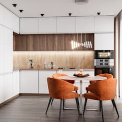 Kitchen by CUBE INTERIOR,