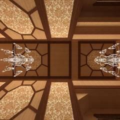 Спальня хозяев - потолки: Tерраса в . Автор – Студия дизайна интерьера 'ЭЛЬ ХОСЕ'