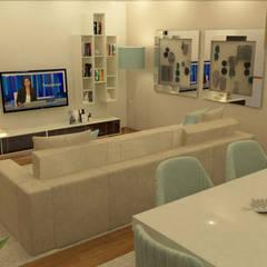 """(Re) Decoração de Moradia: Deseja """"mudar o visual"""" de sua casa?: Salas de estar  por Casactiva Interiores"""