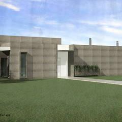 Casa dos Sobreiros | Sesimbra: Casas unifamilares  por ATELIER OPEN ® - Arquitetura e Engenharia