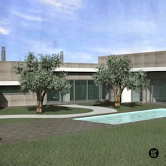 Rumah prefabrikasi by ATELIER OPEN ® - Arquitetura e Engenharia