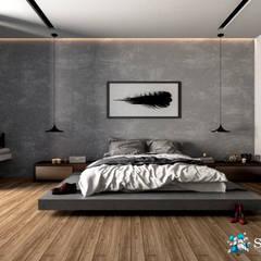 VILLA ROSA TORO: Dormitorios de estilo  por Studio17-Arquitectura