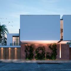 VILLA ROSA TORO: Casas de estilo  por Studio17-Arquitectura,