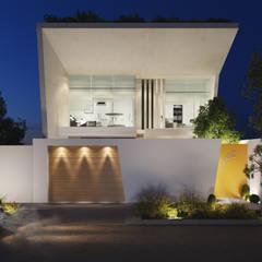 VILLA CUBA: Casas unifamiliares de estilo  por Studio17-Arquitectura,