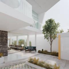 VILLA CUBA: Terrazas de estilo  por Studio17-Arquitectura, Minimalista
