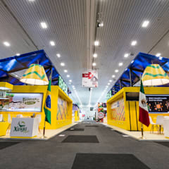 Exhibition centres by René Flores Photography