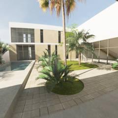 Viviendas colectivas de estilo  por Proyéctica Arquitectos