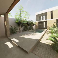 مسبح حديقة تنفيذ Proyéctica Arquitectos