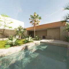 Garden Pool by Proyéctica Arquitectos